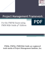 Project Management Framework Fourth Edition