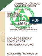 diapositiva exposición codigo de etica