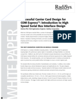 COM Express Carrier Card Design WhitePaper