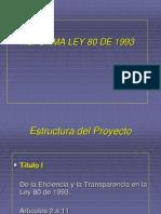 Reforma Ley 80 de 1993