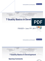 7 Quality Basics in Development
