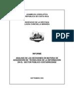 Informe Laura Chinchilla Tecnologias Informacion 2005