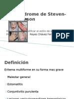Síndrome de Steven-Johnson
