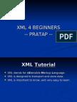 XML 4 Beginners by Pratap