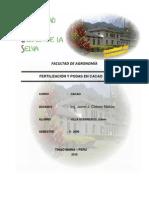 Fertilizacion y Podas