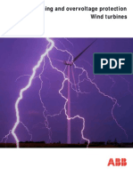 Lightning and Overvoltage Protection Wind Turbines