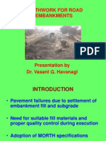 Earthwork for Road Construction