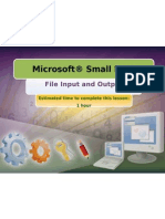 3.1 - File Input and Output