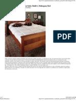35986714 Build a Mahogany Bed