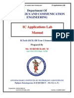 IC Lab Manual by Suresh Babu