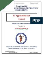 IC Lab Manual by Suresh Babu