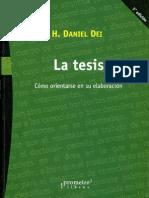 Dei Daniel - La Tesis