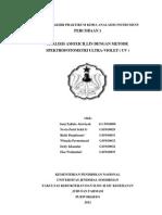 SPEKTROFOTOMETRI ULTRA-VIOLET ( UV )
