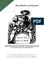 Gambrinus- Bog Chmielu Czy Krol Piwa?