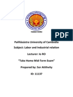What is Labor and Industrial Relation