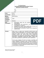 Pro Forma MTE3105 Statistik