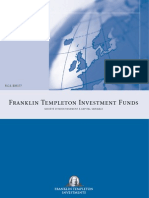 Franklin Templeton Investment Funds SICAV en Annualreport