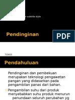 3. Pendinginan Powerpoint