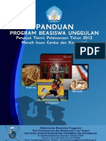 Panduan BU 2012