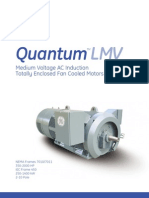 GE Quantum MV AC Induction Totally Enclosed Fan Cooled Motors