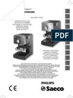 Manual Philips Saeco HD8323