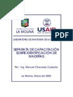 Manual de Anatomia de La Madera