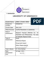 Research Proposal by Omod Othow