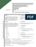 DNER-ME006-00 Emulsões asfálticas - determinação da sedimentação