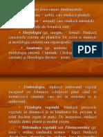 Biologie Vegetala