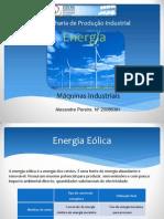 Energia Eólica - ppt