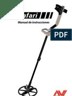 manual español detector metales minelab safari