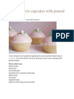 How to Cover Cupcakes With Poured Fondant