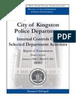 Kingston Police Department Audit
