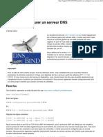 Installer et configurer un serveur DNS » Ingnu
