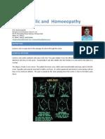 Ureteric Colic and Homoeopathy