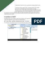 BeEF XSS Framework