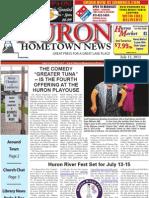 Huron Hometown News - July 12, 2012