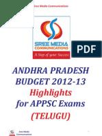 AP Budget 2012 13 Final