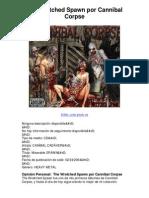 the wretched spawn por cannibal corpse - 5 estrellas revisión