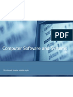 Computer Software and Systems (1)