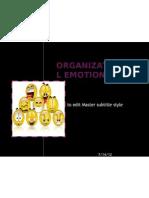 Organizational Emotions