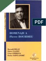 Homenaje a Pierre Bourdieu
