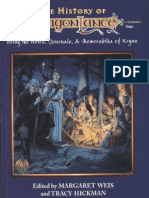 Ad&d - The History of Dragonlance