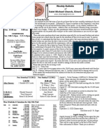 St. Michael's July, 15, 2012 Bulletin