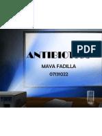 07131022 Maya Fadilla- Antibiotics