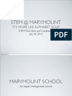 STEM @ Marymount