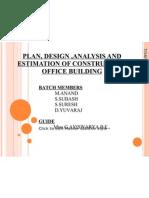 Plan of Construction Office Building www.annaunivprojects.com