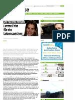 Vermisste Personen - Der Fall Inka Köntges - Letzte Frist - www-neuepresse-de