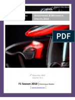 F1 Season 2010 - Aerodynamic and Mechanical Updates - Version 3