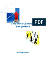 Corporate Culture in Bangladesh